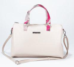 新式の小石の穀物PUの女性十字ボディハンドバッグの方法大きい容量のボストン袋
