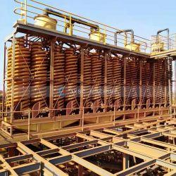 المشروع الأسترالي 250tph ilmenite Processing Plant Spiral concentrator Mining Equipment