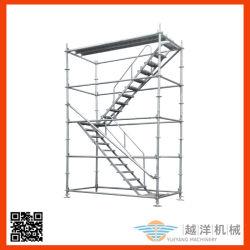 معدن يغلفن فولاذ متحرّك [كويكستج] تضمينيّة منصة سلّم نظامة درج سقالة