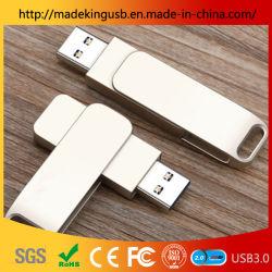 محرك أقراص USB محمول طراز 2019 مخصص شعار الليزر محرك أقراص USB محمول معدني USB محمول