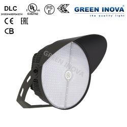 إضاءة LED عالية سارية عالية الإضاءة تصميم استاد شارع الرياضة مصباح مع DLC UL CE CB ENEC EAC SAA PSE nom (300 واط 400 واط 500 واط 600 واط 750 واط 950واط 1200 واط)