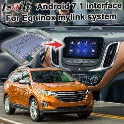 Система навигации GPS для Android Lsailt окно видео интерфейс для Chevrolet Equinox система дополнительно Carplay Mylink