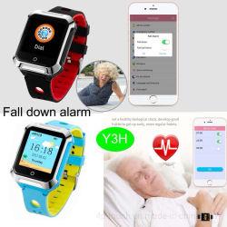 Les personnes aînées de localisation GPS étanche Smart montre téléphone Y3h