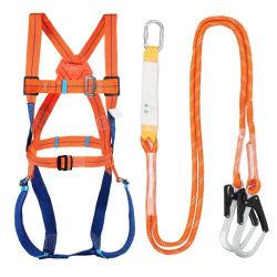 Segurança do chicote com corda de Arnês com cinto de cintura