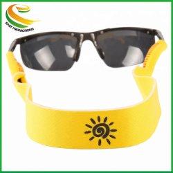 Fördernde kundenspezifische sich hin- und herbewegende Sport-Sonnenbrille-Brücke-mehrfachverwendbare Neopren-Brille-Halterung-Brücke