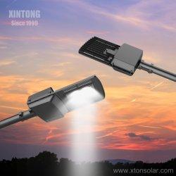 Xintong Solar de 5 años de garantía de la calle LED lámpara Sensor de movimiento para el Proyecto de alumbrado exterior 30W 40W 50W 60W 70W 80W precio de fábrica