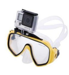 كاميرا تحت الماء الاحترافية من OEM قناع الغوص الكاميرا الرياضية Xiaomi Sjcam كاميرا Scuba الغوص تحت الماء نظارات السباحة لكاميرا GoPro S4)