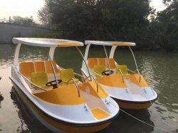 Prix d'origine usine 4-5 personne bateau alimenté par batterie pour le Fun