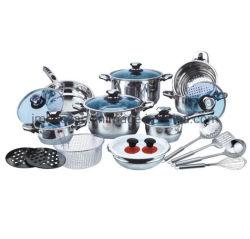 Cookware 25PCS stabilito degli utensili della cucina del Cookware dell'acciaio inossidabile