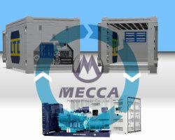 40FT container reefer gerador a diesel com sistema combinado