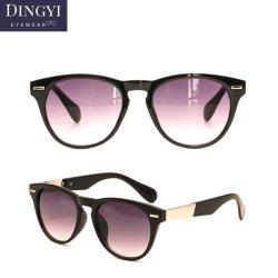 Promocionales de plástico barato gafas de sol lentes de espejo de logotipo personalizado 2019 Fashion Factory OEM gafas de sol para mujer