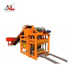Qtj4-28 Bloques de enclavamiento de hormigón de máquinas para fabricar ladrillos