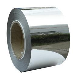 Tôles laminées à froid 2b/ba/ bobines de bande en acier inoxydable (202, 3051.4373/FR/FR1.4303, 430/FR1.4016)