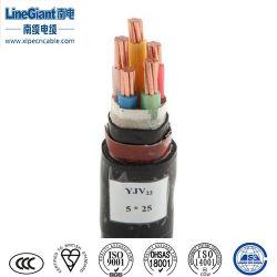 5 Core retardante de chama de cobre sólido Cabo Eléctrico (ZB-VV22) // Electricals sucata de fio de cobre em fio de cobre