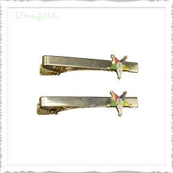 La impresión personalizada de Metal Logo personalizado artesanía Tie Pin Barra de sujeción de clips para el comercio de moda Regalos de empresa