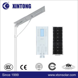 8m-12m 방수 폴란드를 가진 1개의 /Integrated 태양 전지판 Moudle 책임 건전지 태양 거리 LED 램프에서 Xintong 전부