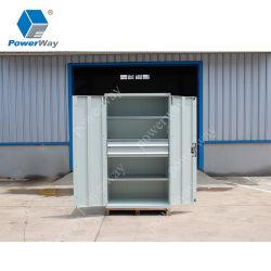 ドアが付いている大きい研修会のガレージの使用の金属のツールの収納キャビネット