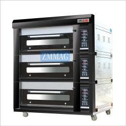 Газовой печи для выпечки машины с каменным полом и паровой системы впрыска (ZMC-309М)