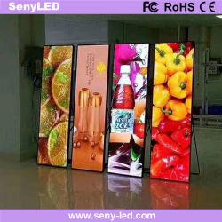 LED-poster met mobiel LED-spiegeldisplay door Smart Phone Control