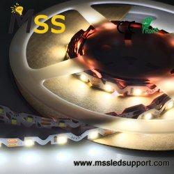 مصباح LED القطاع المرن لشكل S SMD2835 مع شريط 3M للإضاءة الخلفية لكمبيوتر التلفزيون