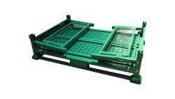 重い記憶のケージの鉄フレームの折る金属ボックス金属ボックス金属のケージ