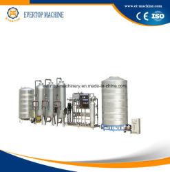 RO l'Osmose Inverse l'eau pure de purification minérale du système de filtrage de l'usine de la machine de traitement