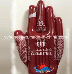 Mains gonflables de promotion de la publicité à la main d'encouragement à la main en PVC
