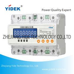 Yidek disipación baja 50/60 Hz 1,5 a 5 A 10 A 20un medidor de potencia para la facturación Digital