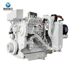 Motore diesel elettrico utilizzato serie di prezzi marini della scatola ingranaggi della barca delle parti dell'HP di Sdec D683 10 da vendere