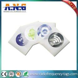 Der preiswerten Fabrik-Rewritable programmierbare NFC Marke Aufkleber-des Kennsatz-RFID
