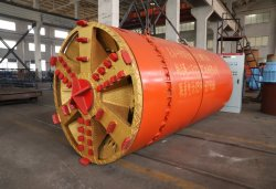 Boring Machine van Tbm van de Machine van Microtunneling van de Machine van het Opkrikken van de Pijp van de Neerstorting van de Dunne modder van Tunelmachine de Tweede voor de Pijp van het Staal/van het Beton/van het Gietijzer