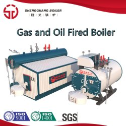 Nagelneues industrielles Ölniedriger Nox-Dampfkessel-gasbeheiztwarmwasserspeicher LNG-LPG