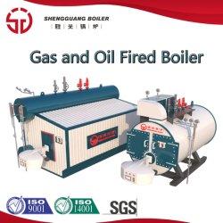 Caldaia a vapore a gas dell'olio industriale di LNG GPL