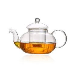 Borosilicat-Glas-Teekanne mit Infuser und Filter