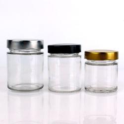 Герметичной стеклянной тары для хранения, кухня в контейнеры для хранения продовольствия в обмен на продовольствие мед с металлической крышки багажника