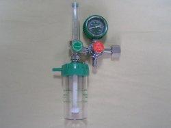 Debitómetro com sonda de oxigénio Lw-Flm-5 Regulador e o humidificador Garrafa