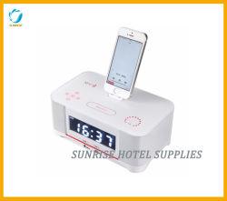Станция стыковки будильника Bluetooth гостиницы