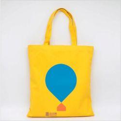 L'Éco noire personnalisé de taille standard organiques chiffon de coton canvas tote transporter un sac de shopping