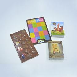 Impressão personalizada Branco tabuleiro de xadrez mesa de jogo para venda