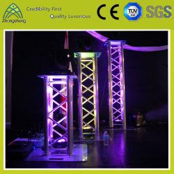 Fase Gentry Iluminação Espigão de alumínio Truss para desempenho exterior