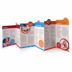 Livreto feito sob encomenda do folheto da impressão do catálogo do folheto da cópia da forma
