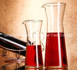 Les fabricants de gros de verre de vin en verre carafe décanteur d'personnalisé