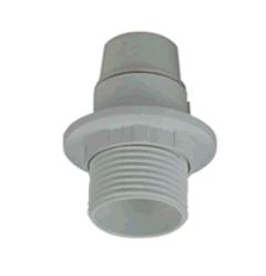 Аксессуары светильников поставщиком E14 пластмассовый винт держателя лампы оболочки тени половину кольца с резьбой