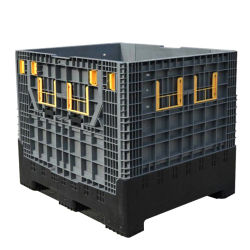 Heavy Duty Industrial 1ton Contenedor Plegable / Plegable Grande para Piezas de Automóviles / Piezas de Máquinas