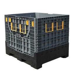 Op zwaar werk berekende Industriële 1ton Opvouwbare/Vouwbare Grote Container voor de AutoDelen van Delen/Machine