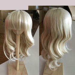 De nieuwe Pruik van het Haar van Doll Kanekalon van Manier Populaire 100% van het Ontwerp Synthetische