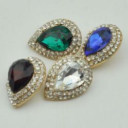 方法Rhinstoneの宝石類ボタンの衣服のアクセサリ