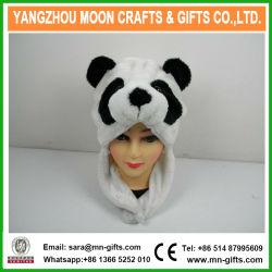 2017 quente no inverno de venda de animais de pelúcia Panda Chefe Hat
