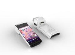 5 polegadas câmara HD Scanner de código de barras PDA Android Mobile Suporte POS Tela sensível ao toque do leitor de impressões digitais PT50