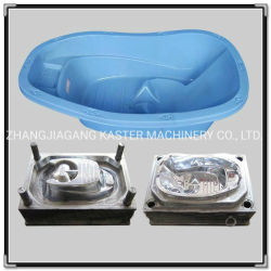 PVC 단일 캐비티 플라스틱 유아용 욕조 사출 금형